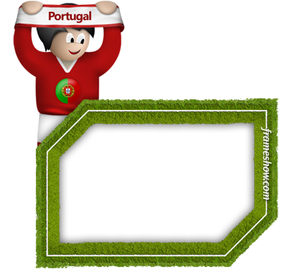 portugal soccer photo frame