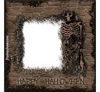 Happy Halloween photo frame