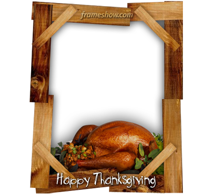 Happy Thanksgiving photo frame
