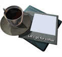 Photo Frame Let's go for coffee: 167