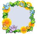 Photo Frame for Spring: 1306