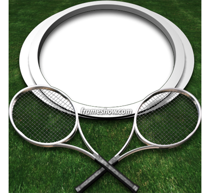 tennis photo frame