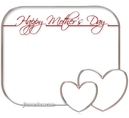 elegant happy mothers day photo frame