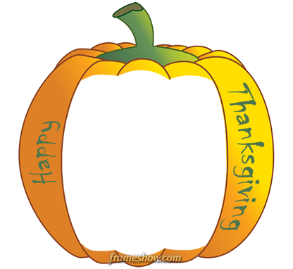 pumpkin Thanksgiving e-card invitation