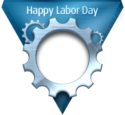 Labour Day photo frame