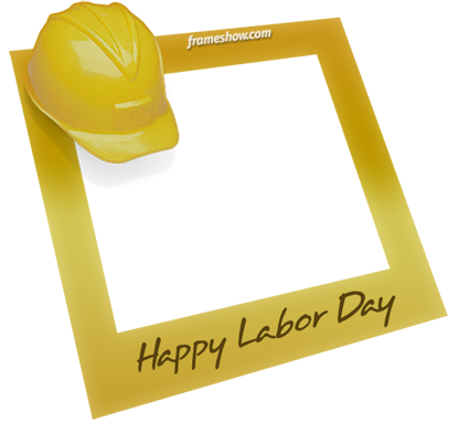 Labor Day photo frame