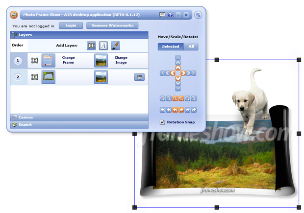 Click to view Photo Frame Show screenshots