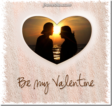 be my Valentine e-card