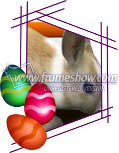 Easter Photo Frame 13