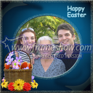 Easter Photo Frame 25