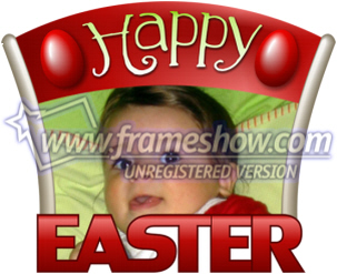 Easter Photo Frame 9
