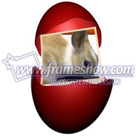 Easter Photo Frame egg